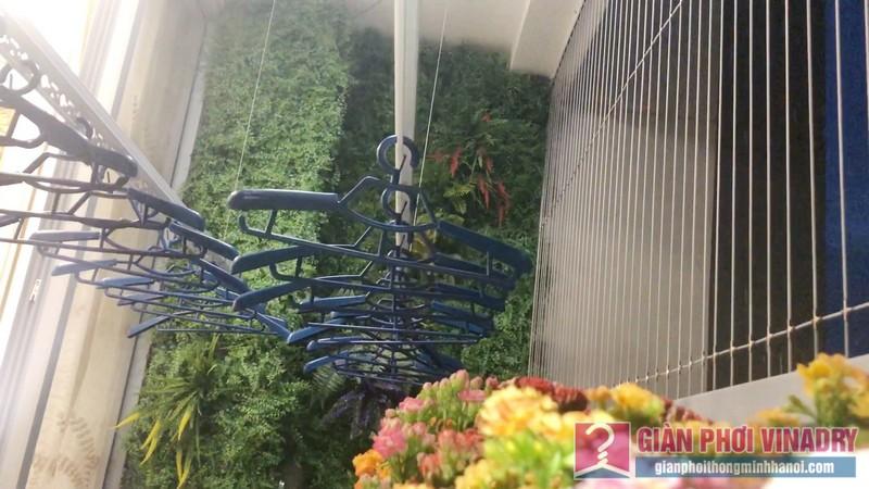 Lắp giàn phơi quần áo nhà anh Tài, tòa A3 chung cư Vinhomes Gardenia, Hà Nội - 04