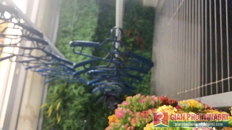 Lắp giàn phơi quần áo nhà anh Tài, tòa A3 chung cư Vinhomes Gardenia, Hà Nội - 05