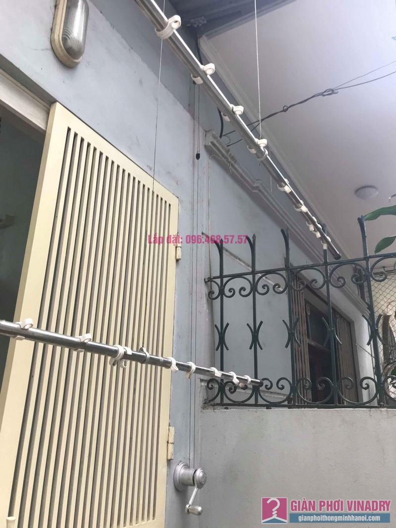 Sửa giàn phơi, thay bộ tời giàn phơi nhà anh Mạnh, Đội Cấn, Ba Đình, Hà Nội - 01