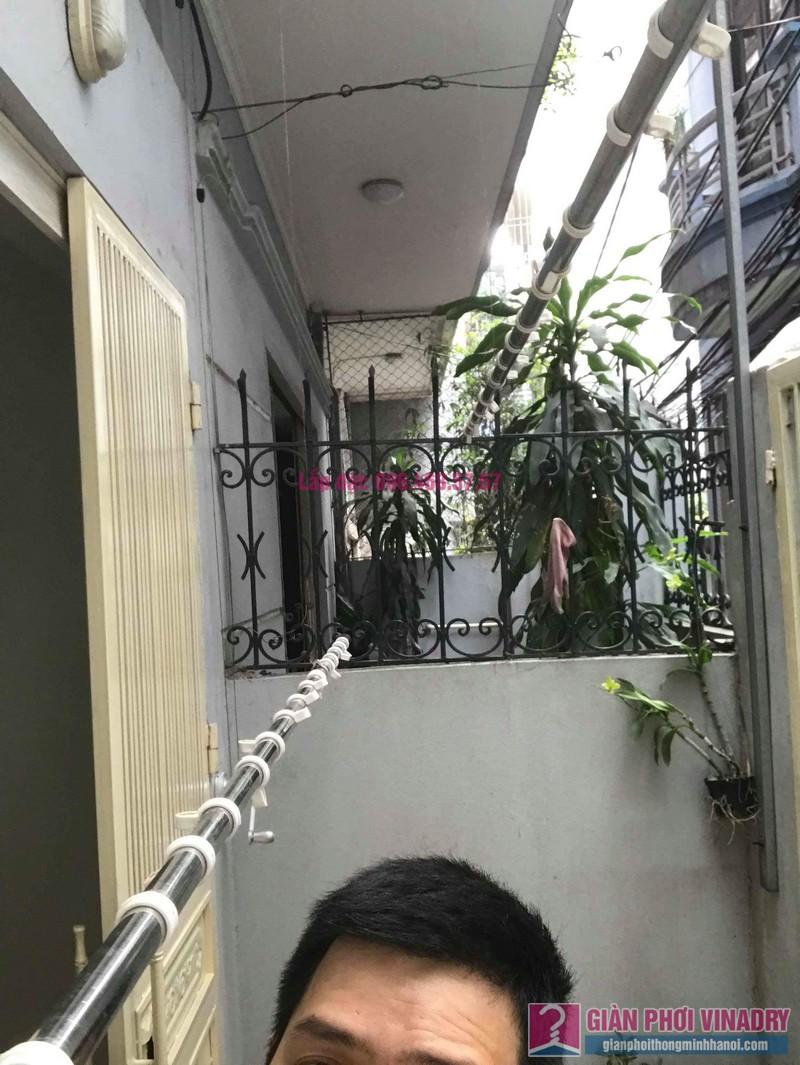 Sửa giàn phơi, thay bộ tời giàn phơi nhà anh Mạnh, Đội Cấn, Ba Đình, Hà Nội - 04