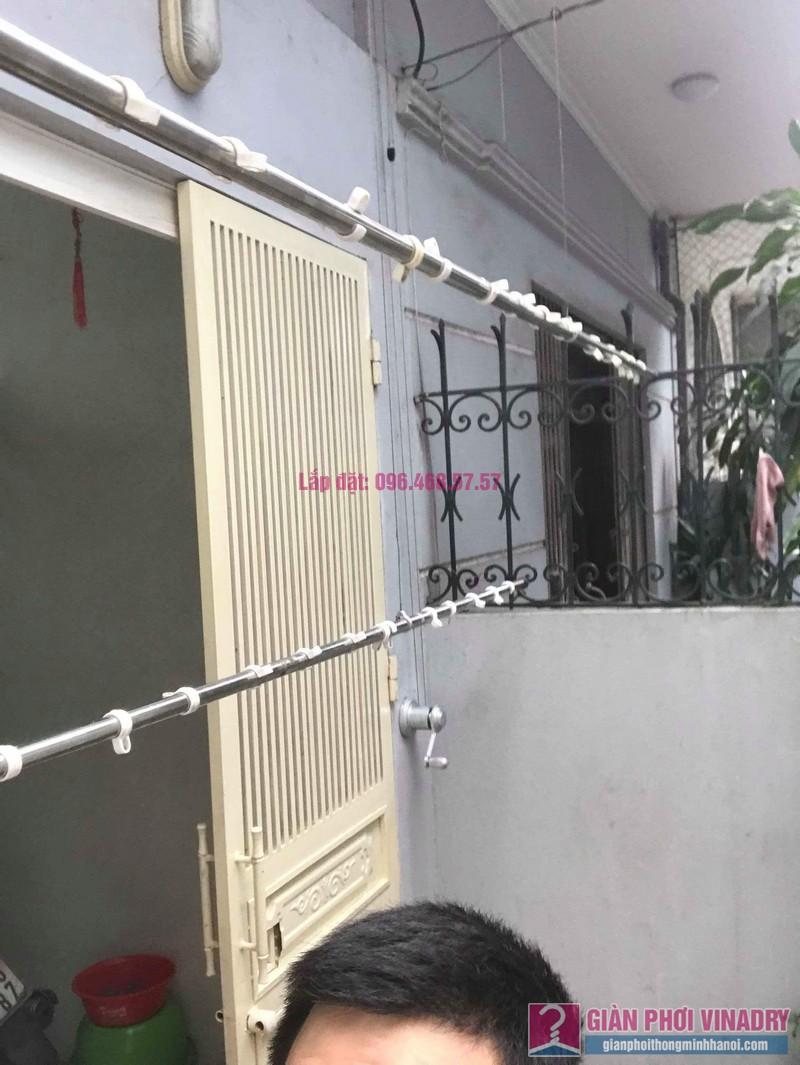 Sửa giàn phơi, thay bộ tời giàn phơi nhà anh Mạnh, Đội Cấn, Ba Đình, Hà Nội - 05