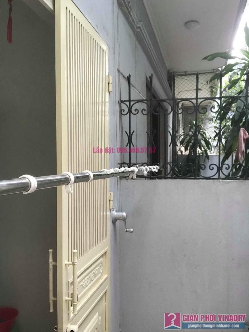Sửa giàn phơi, thay bộ tời giàn phơi nhà anh Mạnh, Đội Cấn, Ba Đình, Hà Nội - 07