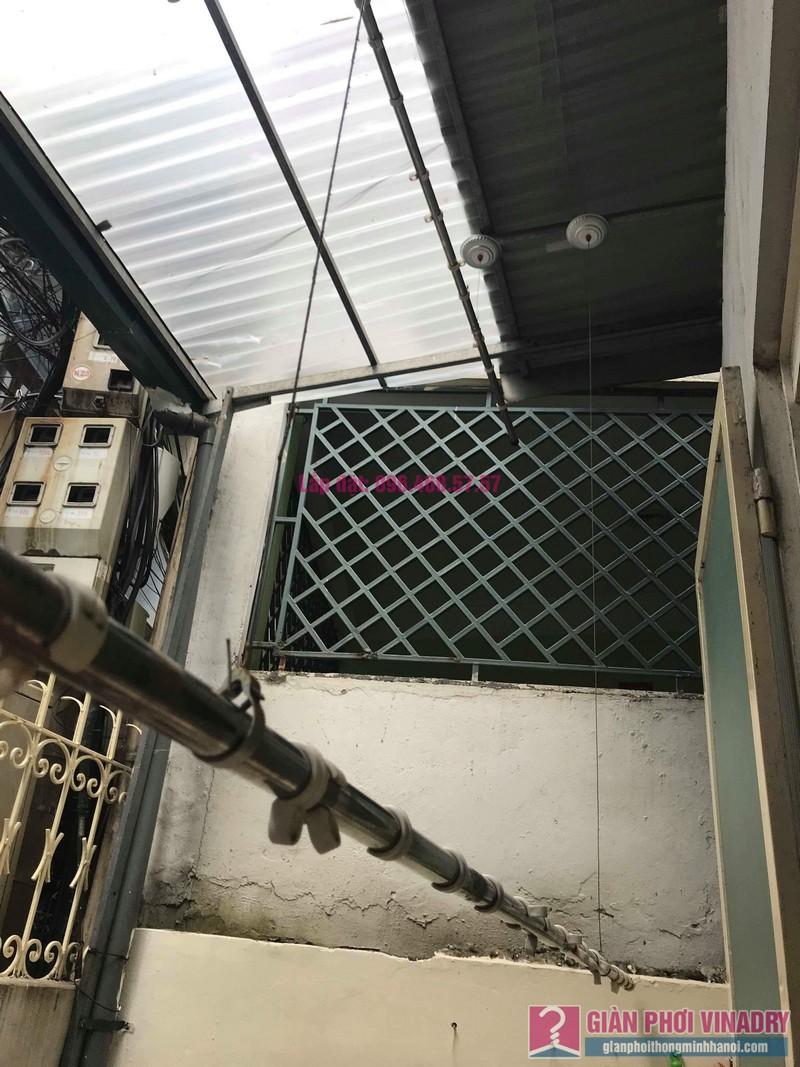 Sửa giàn phơi, thay bộ tời giàn phơi nhà anh Mạnh, Đội Cấn, Ba Đình, Hà Nội - 08