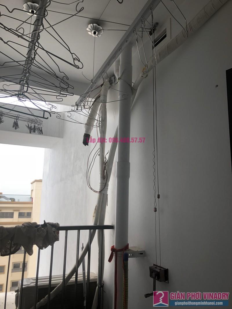 Sửa giàn phơi thông minh nhà chị Diệp, tòa G1, chung cư Five Star số 2 Kim Giang - 07