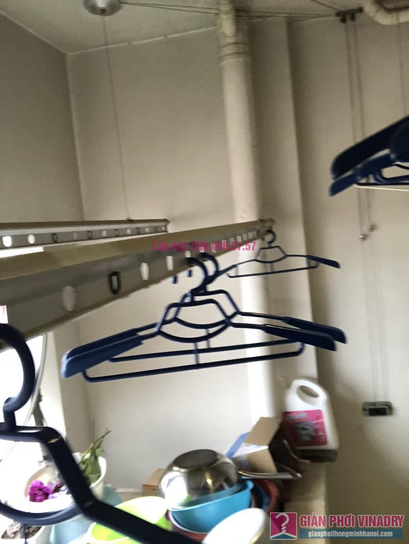 Sửa giàn phơi thông minh Hà Đông nhà chị Quyên, căn 2802, tòa E chung cư Mulberry Lane - 02