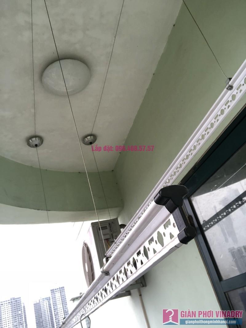Sửa giàn phơi quần áo nhà chị Nhàn, chung cư X1, ngõ 140 Nguyễn Xiển, Thanh Xuân, Hà Nội -05
