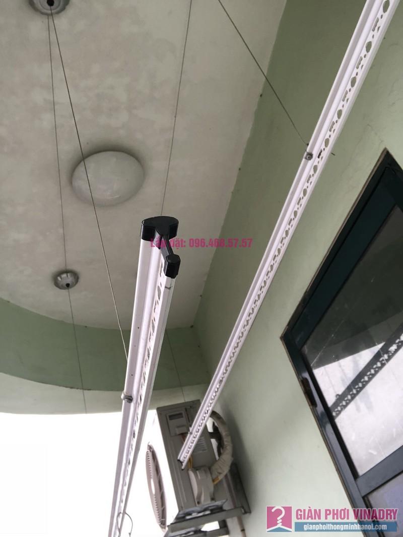 Sửa giàn phơi quần áo nhà chị Nhàn, chung cư X1, ngõ 140 Nguyễn Xiển, Thanh Xuân, Hà Nội -06