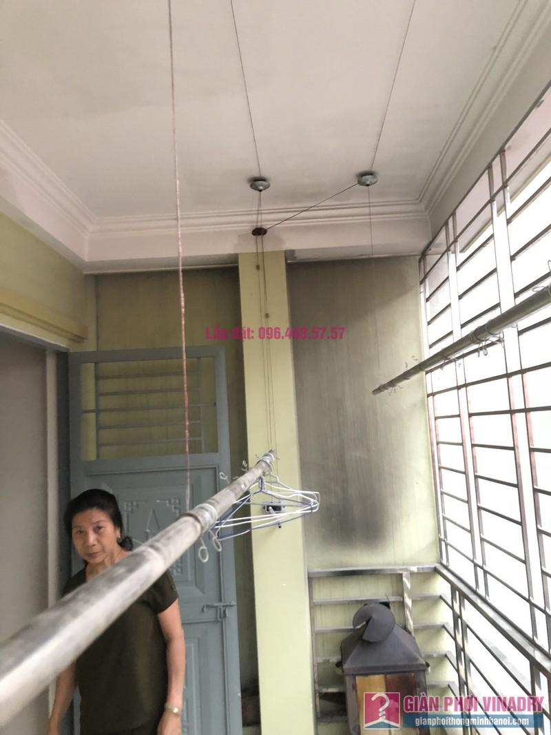 Sửa giàn phơi thông minh Cầu Giấy nhà chị Minh, số 20A/24/132 Cầu Giấy - 01
