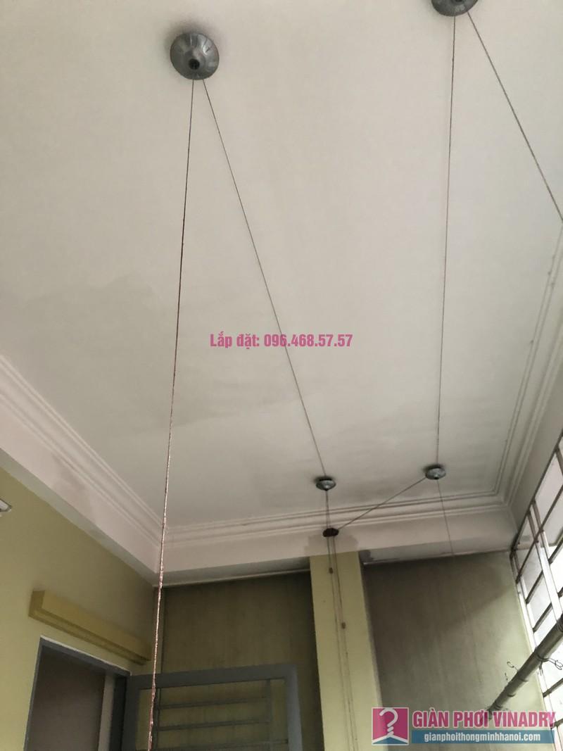 Sửa giàn phơi thông minh Cầu Giấy nhà chị Minh, số 20A/24/132 Cầu Giấy - 02