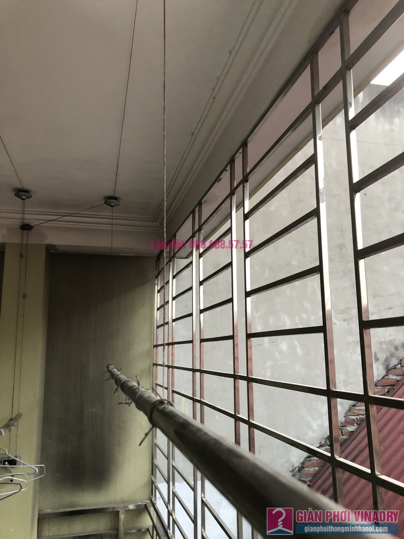 Sửa giàn phơi thông minh Cầu Giấy nhà chị Minh, số 20A/24/132 Cầu Giấy - 06
