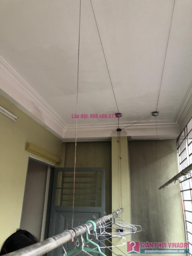 Sửa giàn phơi thông minh Cầu Giấy nhà chị Minh, số 20A/24/132 Cầu Giấy - 07