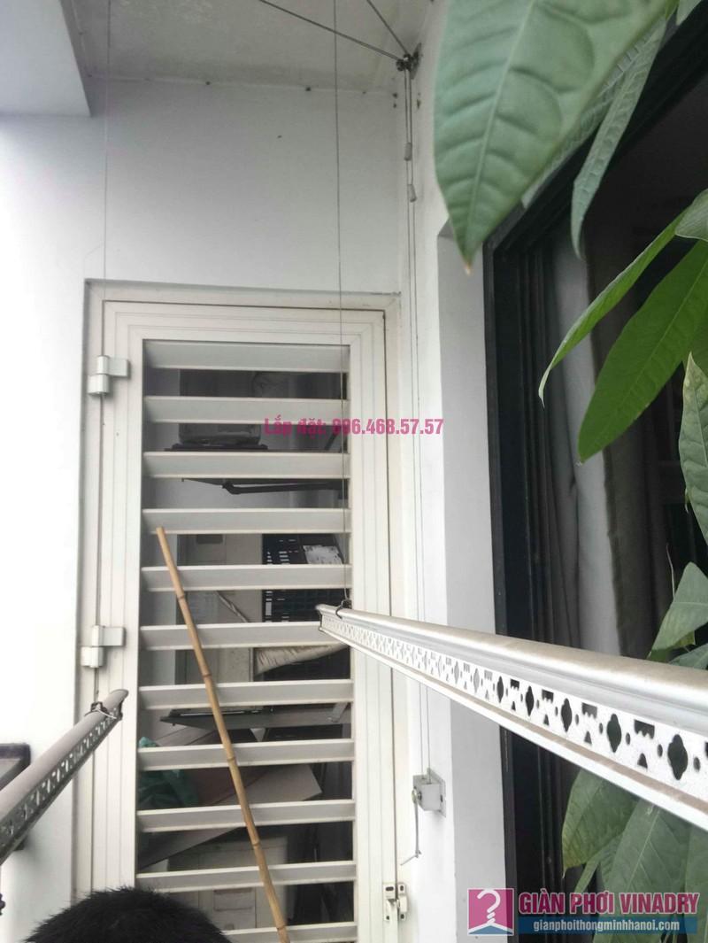 Sửa giàn phơi thông minh nhà chị Hạnh, Tòa T9, Times City - 03