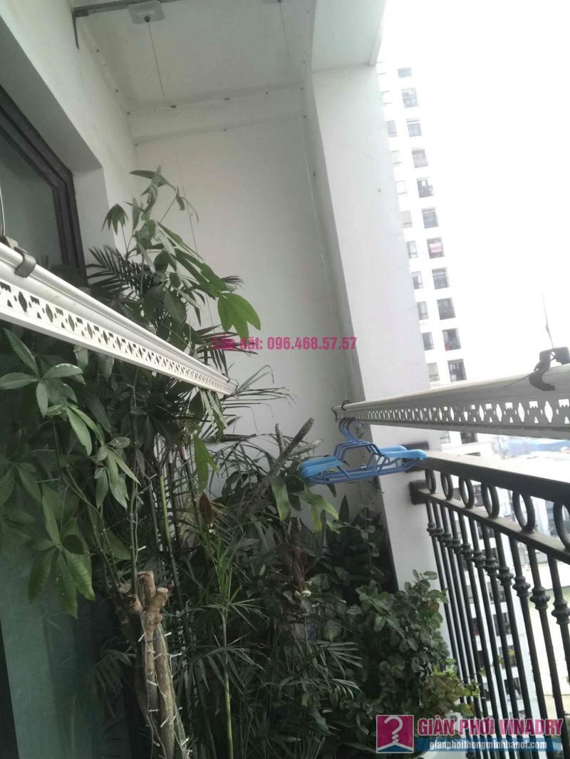 Sửa giàn phơi thông minh nhà chị Hạnh, Tòa T9, Times City - 04