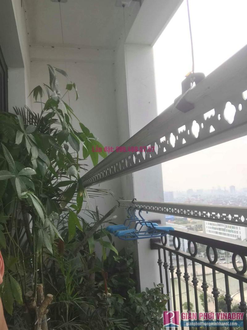 Sửa giàn phơi thông minh nhà chị Hạnh, Tòa T9, Times City - 05