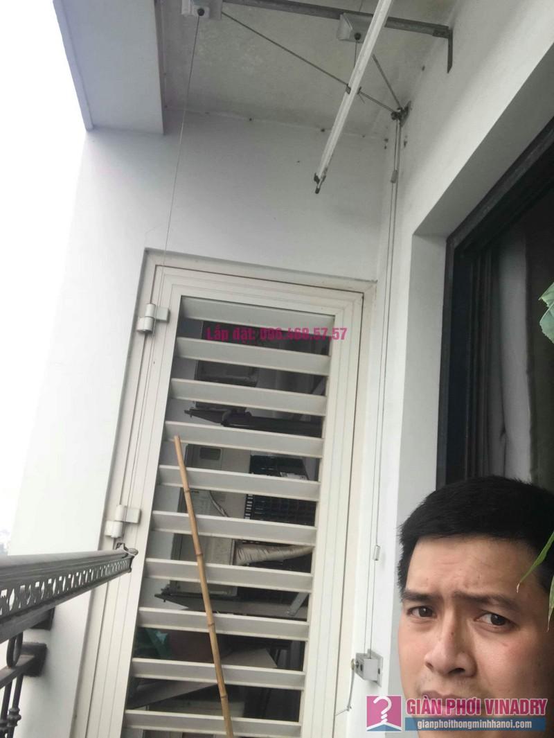 Sửa giàn phơi thông minh nhà chị Hạnh, Tòa T9, Times City - 06