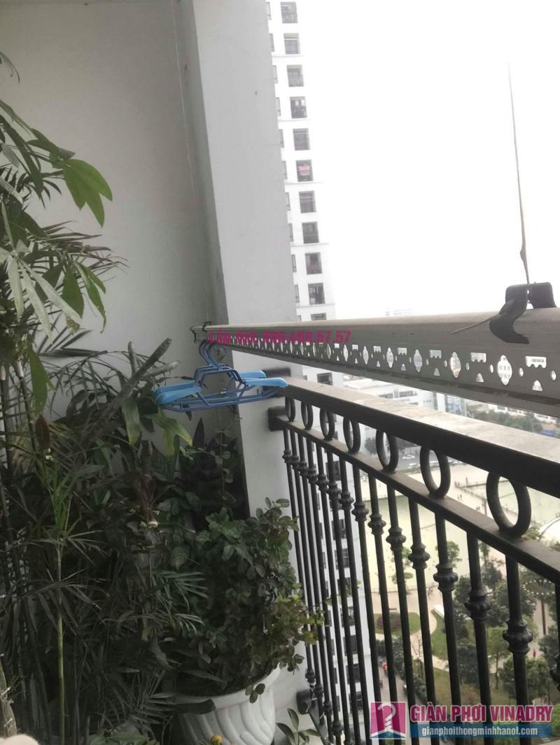 Sửa giàn phơi thông minh nhà chị Hạnh, Tòa T9, Times City - 07