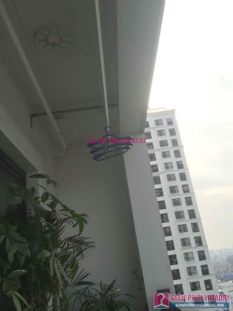 Sửa giàn phơi thông minh nhà chị Hạnh, Tòa T9, Times City - 08