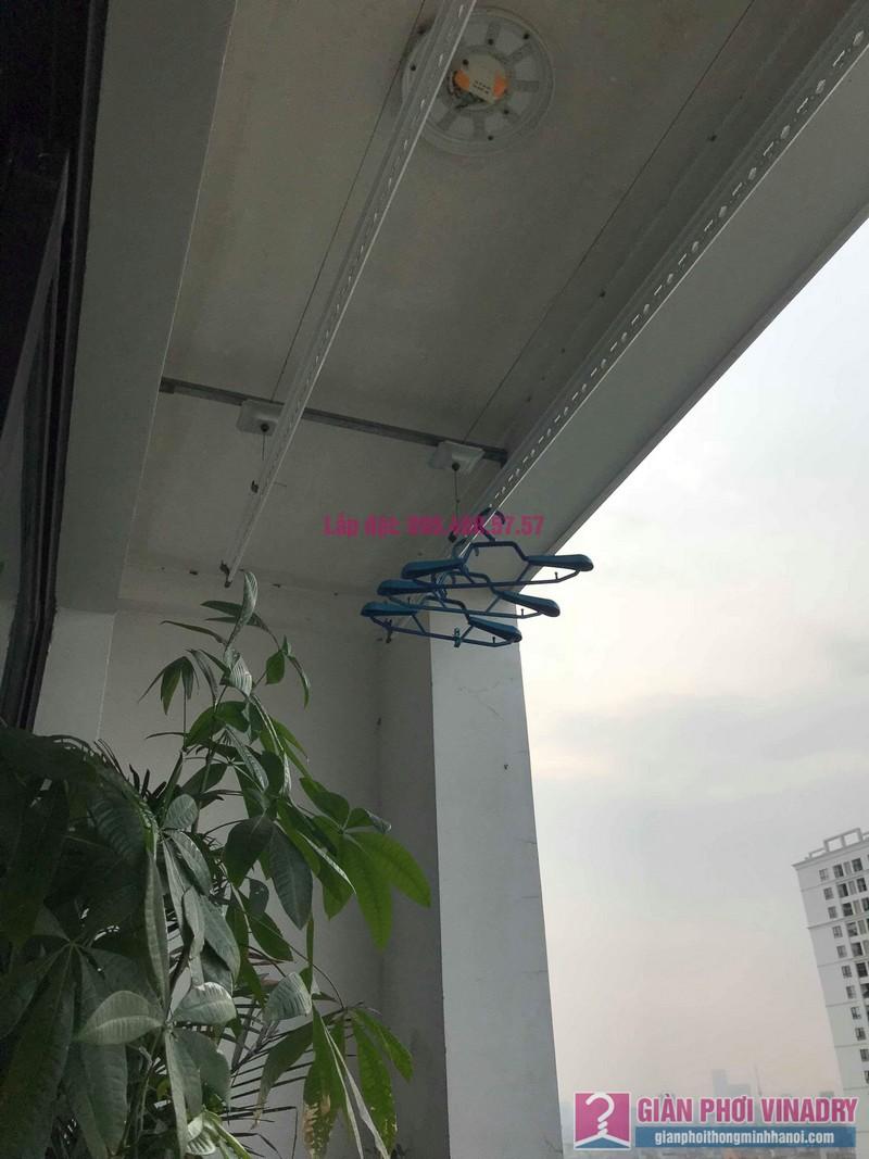 Sửa giàn phơi thông minh nhà chị Hạnh, Tòa T9, Times City - 09