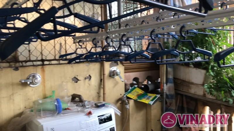 Lắp giàn phơi tại Ninh Bình bộ giàn phơi 990