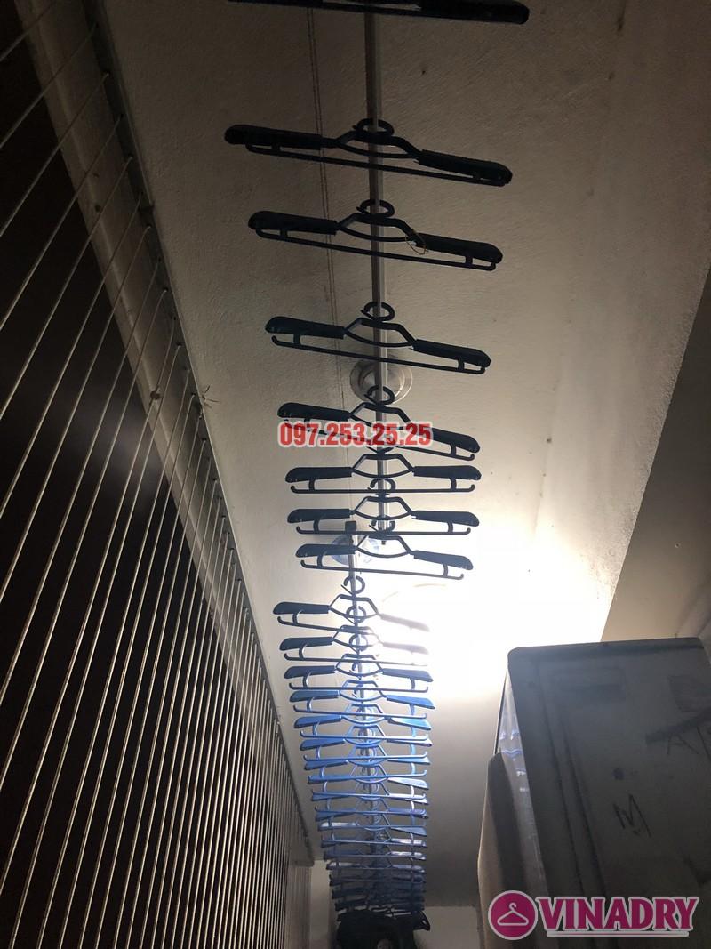 Lắp giàn phơi thông minh Hòa Phát nhà chị Minh, Căn B1410, chung cư Hateco Hoàng Mai - 01