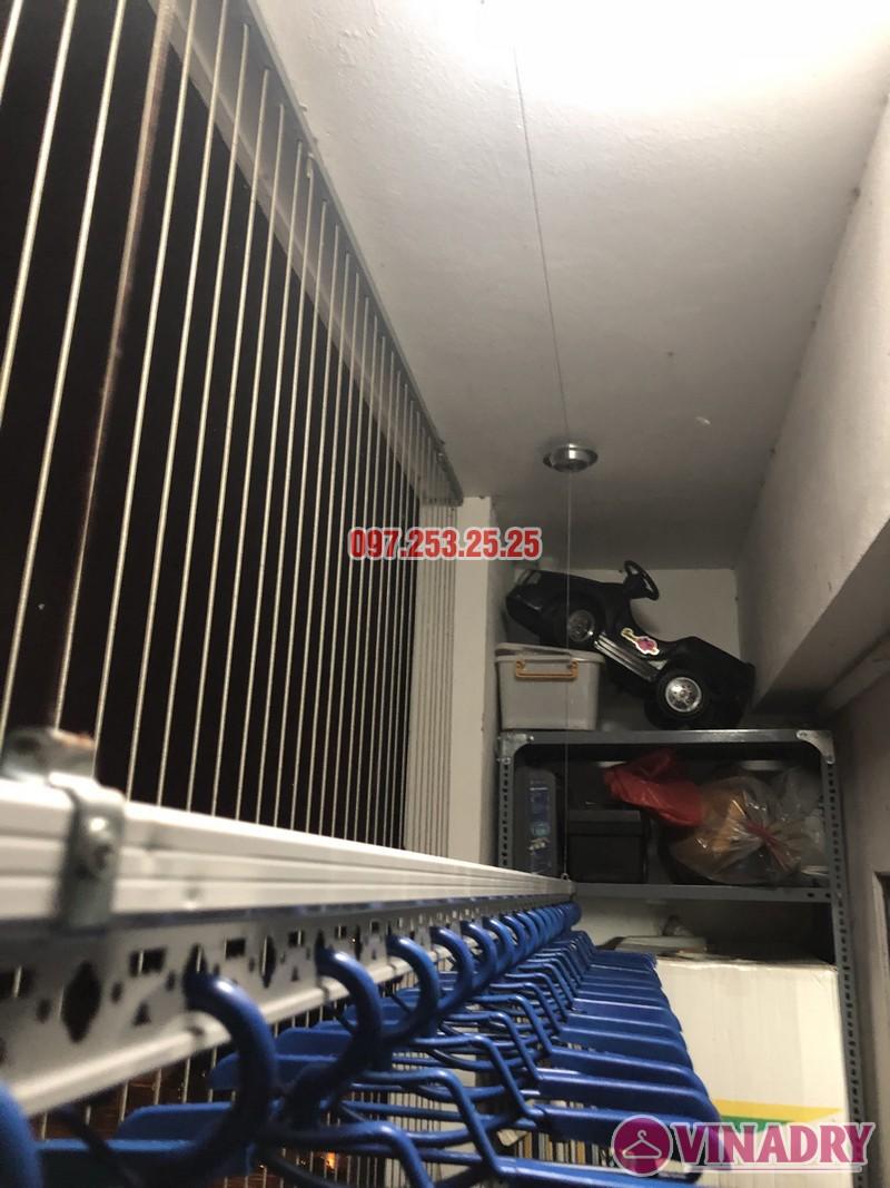 Lắp giàn phơi thông minh Hòa Phát nhà chị Minh, Căn B1410, chung cư Hateco Hoàng Mai - 04