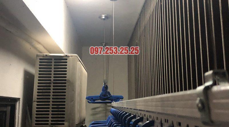 Lắp giàn phơi thông minh Hòa Phát nhà chị Minh, Căn B1410, chung cư Hateco Hoàng Mai - 06