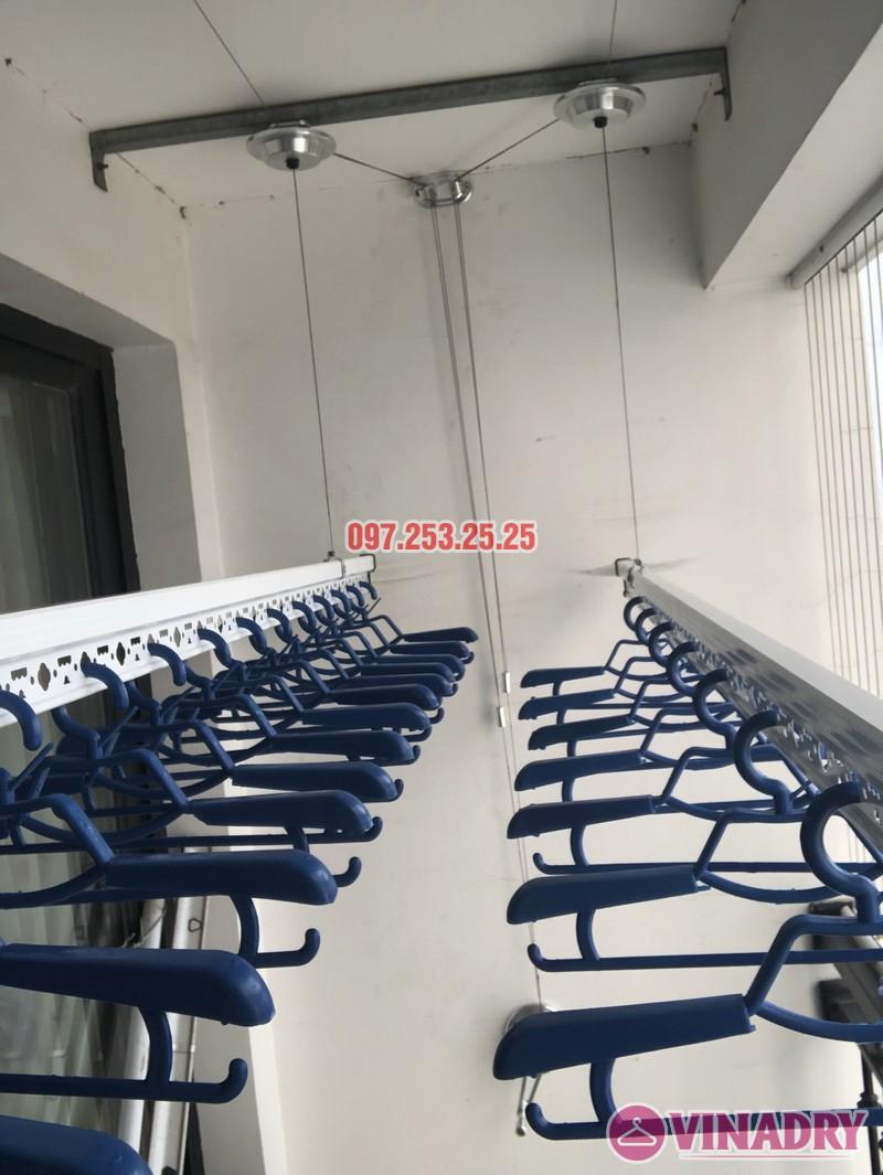 Lắp giàn phơi quần áo tại Times City nhà chị Thiên, căn 2706 tòa T5 - 01