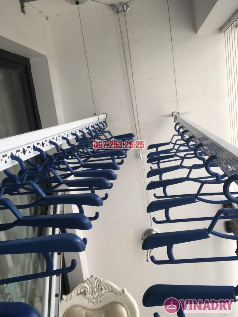 Lắp giàn phơi quần áo tại Times City nhà chị Thiên, căn 2706 tòa T5 - 02