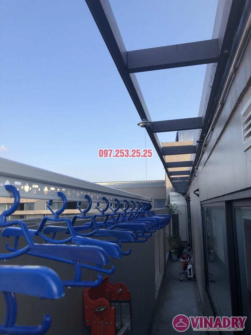 Lắp giàn phơi Đống Đa nhà anh Chiến, căn 2101, tòa HH1 Meco Complex, ngõ 102 Trường Trinh - 01
