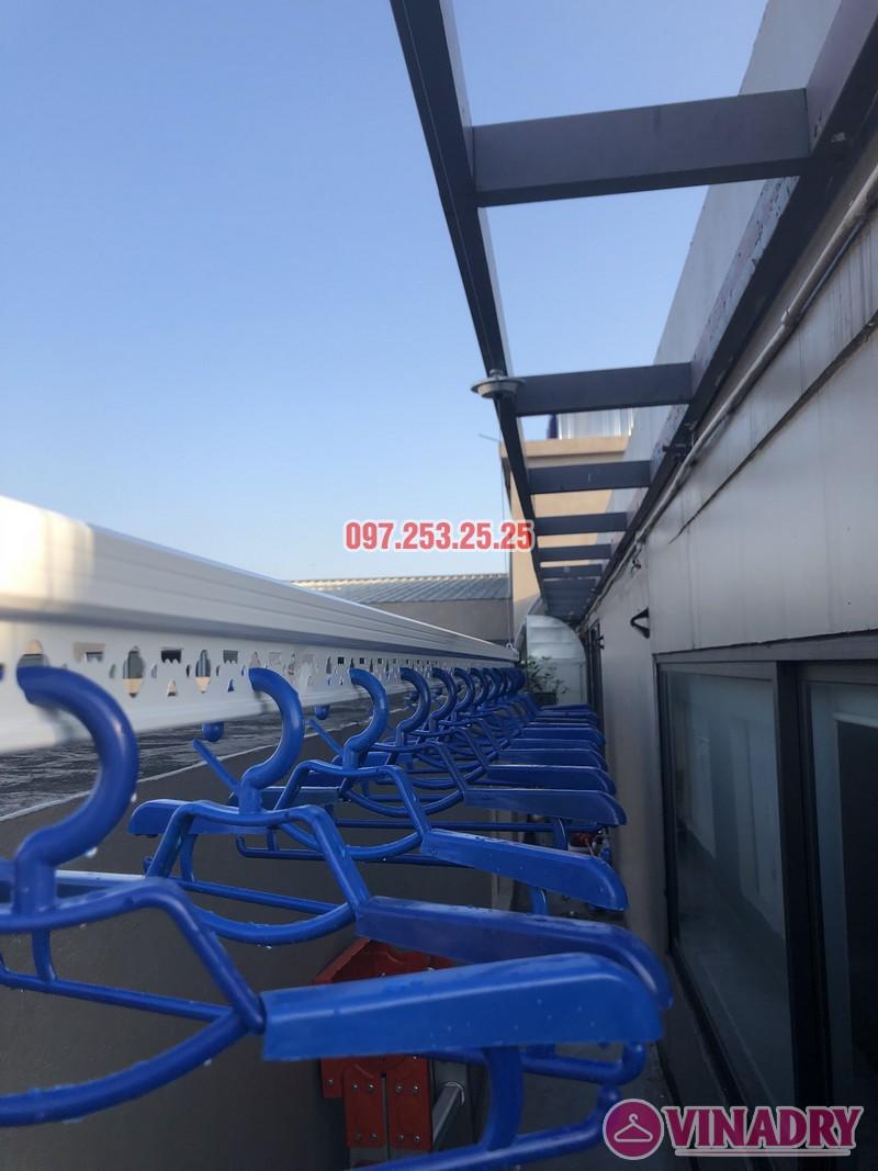 Lắp giàn phơi Đống Đa nhà anh Chiến, căn 2101, tòa HH1 Meco Complex, ngõ 102 Trường Trinh - 02