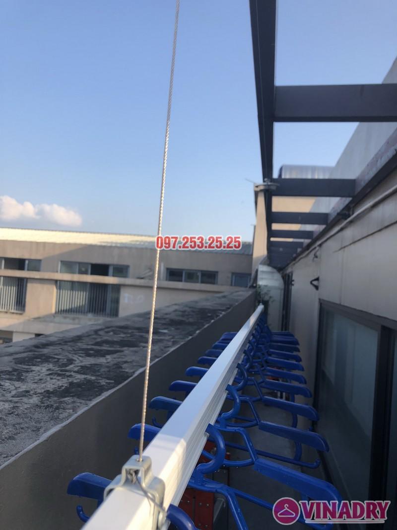 Lắp giàn phơi Đống Đa nhà anh Chiến, căn 2101, tòa HH1 Meco Complex, ngõ 102 Trường Trinh - 03