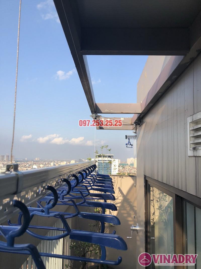 Lắp giàn phơi Đống Đa nhà anh Chiến, căn 2101, tòa HH1 Meco Complex, ngõ 102 Trường Trinh - 04