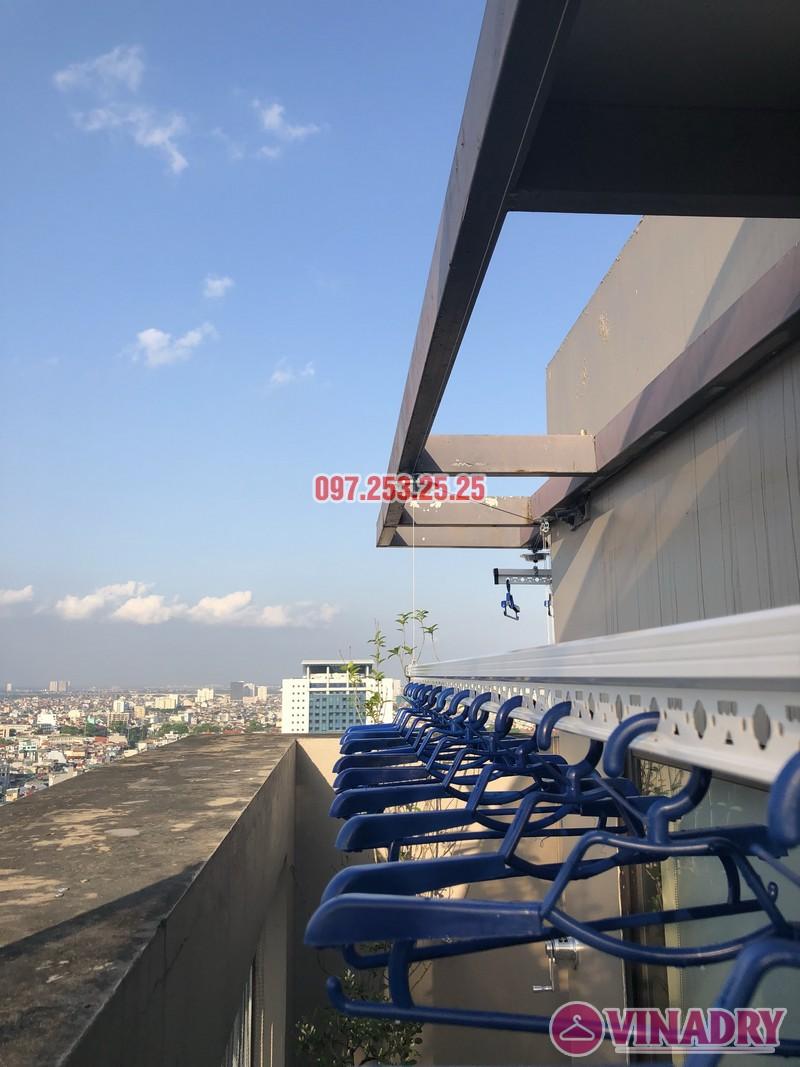 Lắp giàn phơi Đống Đa nhà anh Chiến, căn 2101, tòa HH1 Meco Complex, ngõ 102 Trường Trinh - 05