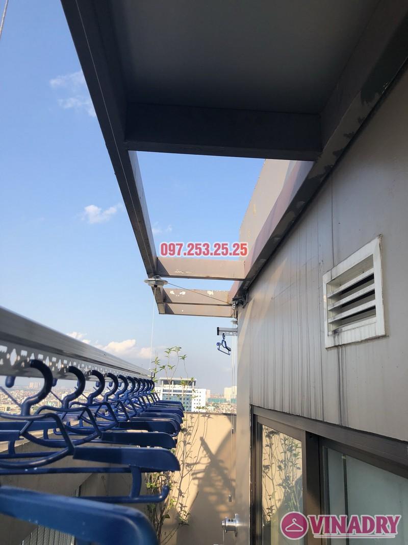 Lắp giàn phơi Đống Đa nhà anh Chiến, căn 2101, tòa HH1 Meco Complex, ngõ 102 Trường Trinh - 06