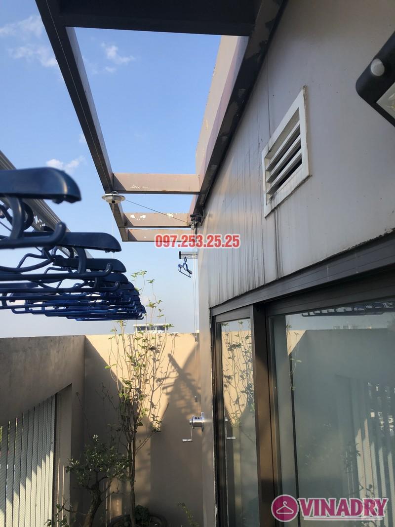 Lắp giàn phơi Đống Đa nhà anh Chiến, căn 2101, tòa HH1 Meco Complex, ngõ 102 Trường Trinh - 07