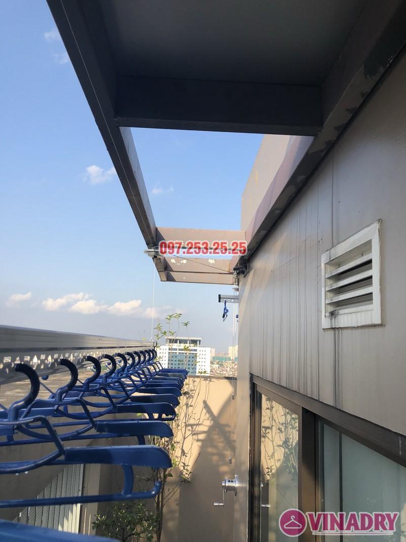 Lắp giàn phơi Đống Đa nhà anh Chiến, căn 2101, tòa HH1 Meco Complex, ngõ 102 Trường Trinh - 08