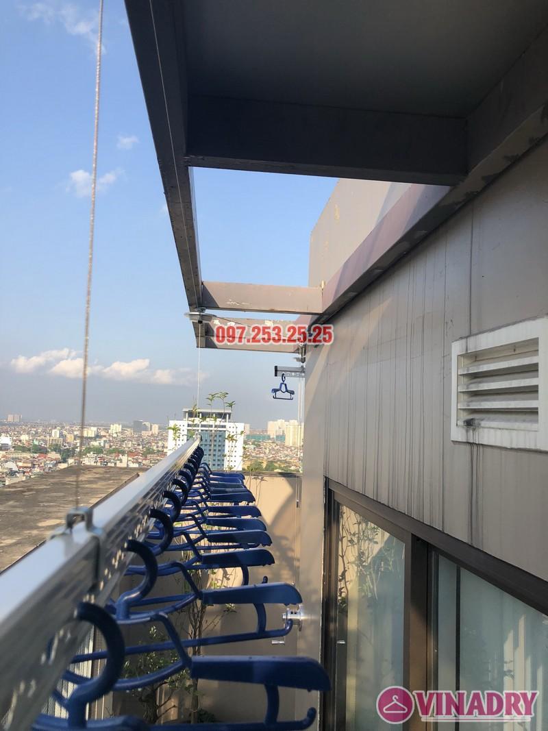 Lắp giàn phơi Đống Đa nhà anh Chiến, căn 2101, tòa HH1 Meco Complex, ngõ 102 Trường Trinh - 09