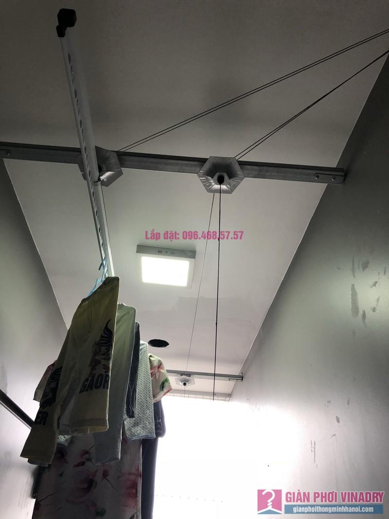 Lắp giàn phơi thông minh Hà Đông nhà chị Thanh, chung cư GoldSilk Complex - 01