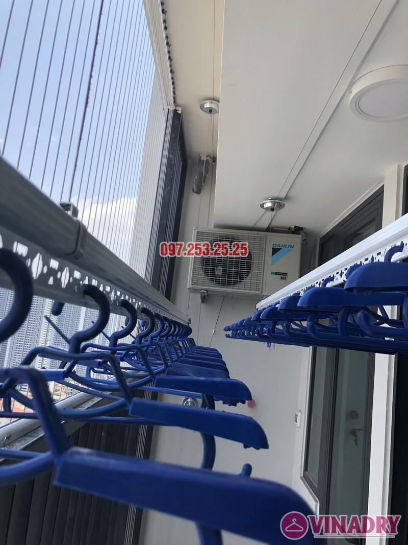 Lắp giàn phơi quần áo tại Hà Đông, nhà chị Hường, chung cư Goldsilk Complex - 04