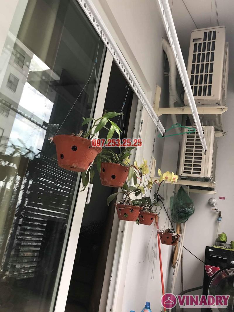 Lắp giàn phơi KS950 nhà anh Tiến, chung cư Handi Resco Lê Văn Lương, Thanh Xuân, Hà Nội - 08