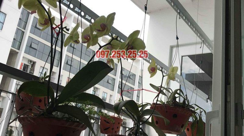 Lắp giàn phơi KS950 nhà anh Tiến, chung cư Handi Resco Lê Văn Lương, Thanh Xuân, Hà Nội - 09