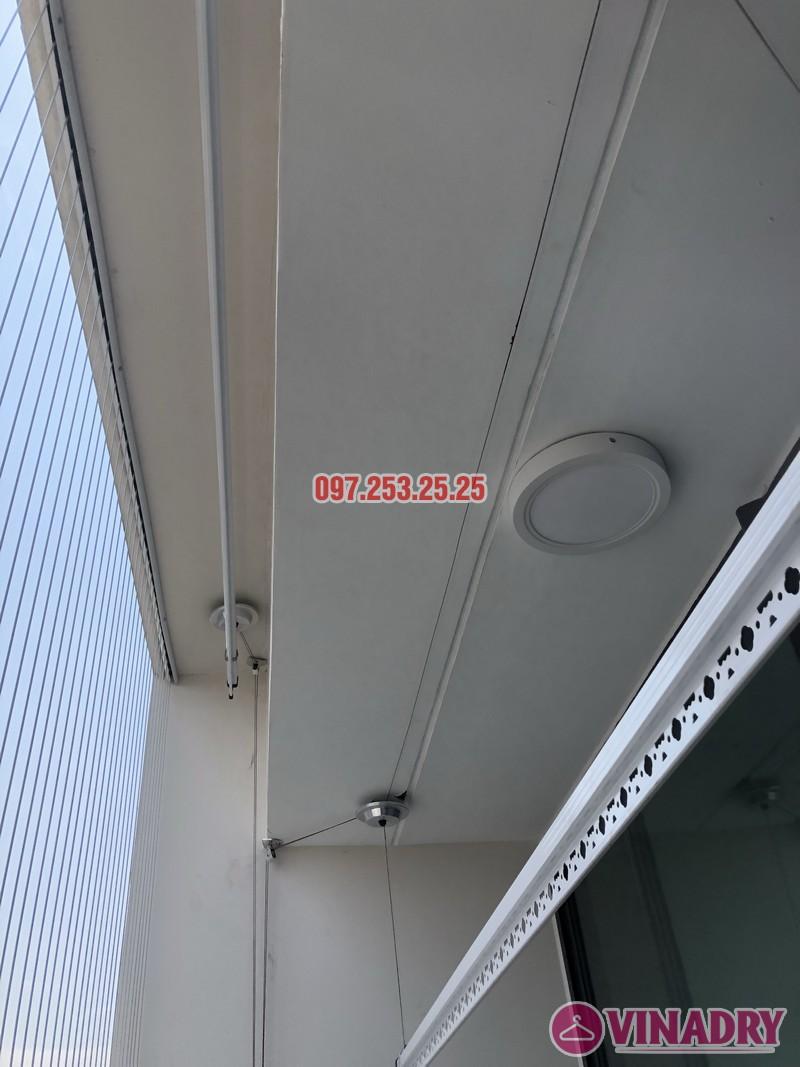 Lắp giàn phơi quần áo thông minh nhà chị Ánh, căn 2601, CT1A Mễ Trì Palaza - 04