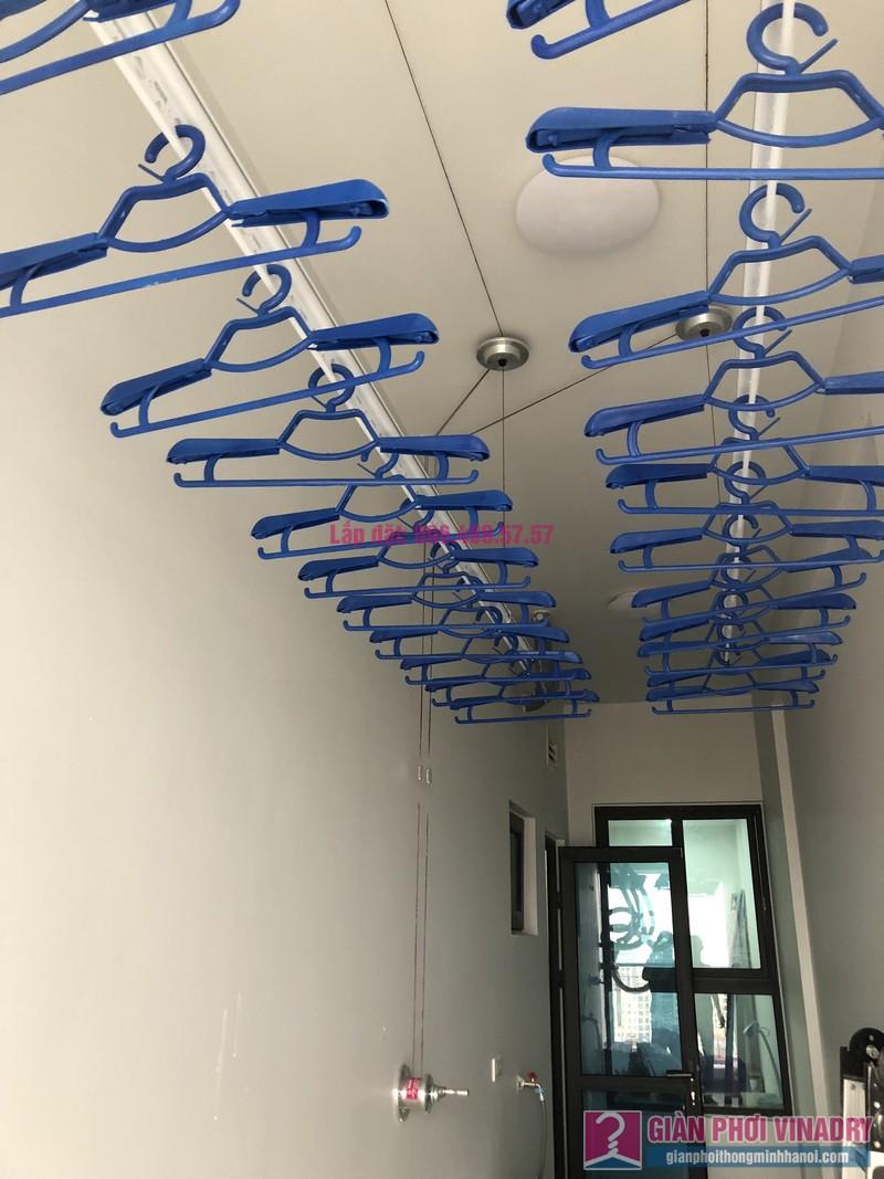 Lắp giàn phơi Hòa Phát Star nhà anh Tiến, chung cư G2 Ciputra, Tây Hồ, Hà Nội - 09