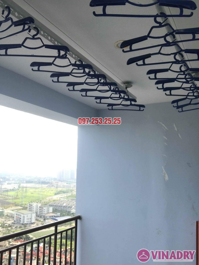 Lắp giàn phơi thông minh Hà Đông nhà chị Dịu, chung cư FLC Star Tower - 04