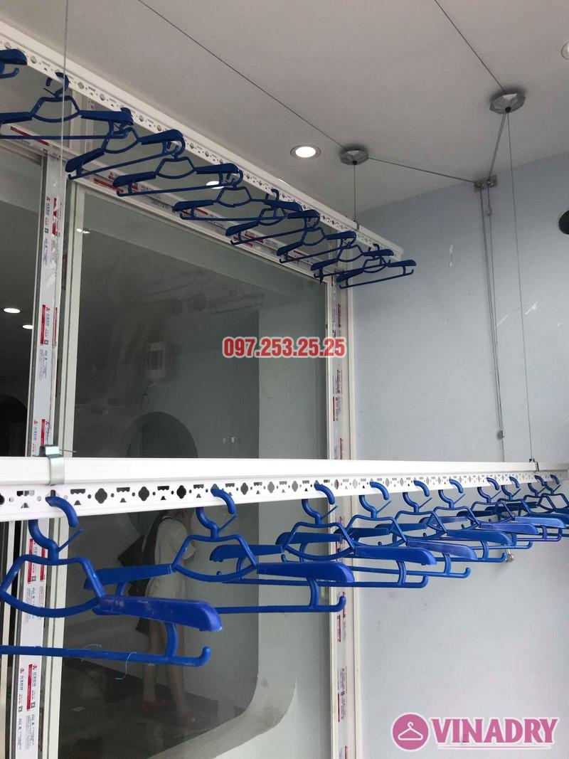 Lắp giàn phơi thông minh Hà Đông nhà chị Dịu, chung cư FLC Star Tower - 05