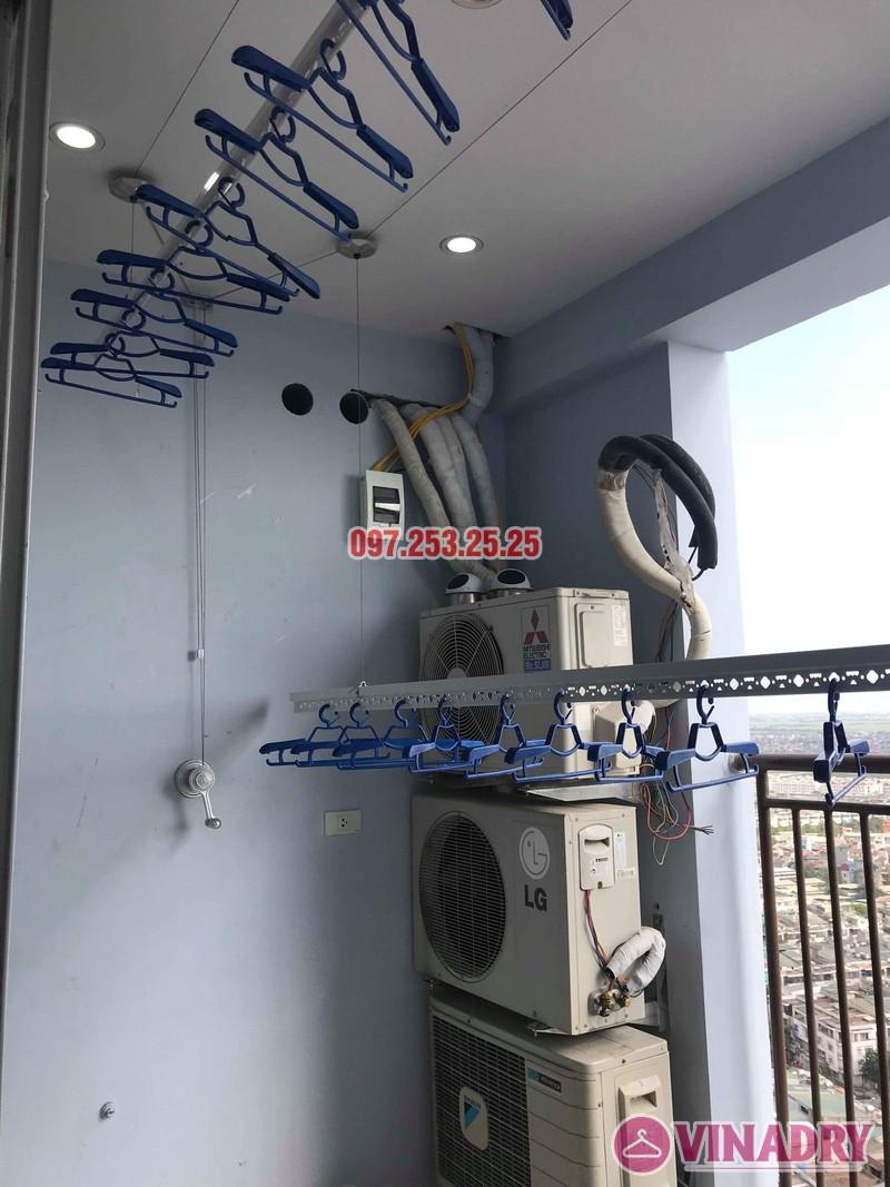 Lắp giàn phơi thông minh Hà Đông nhà chị Dịu, chung cư FLC Star Tower - 06