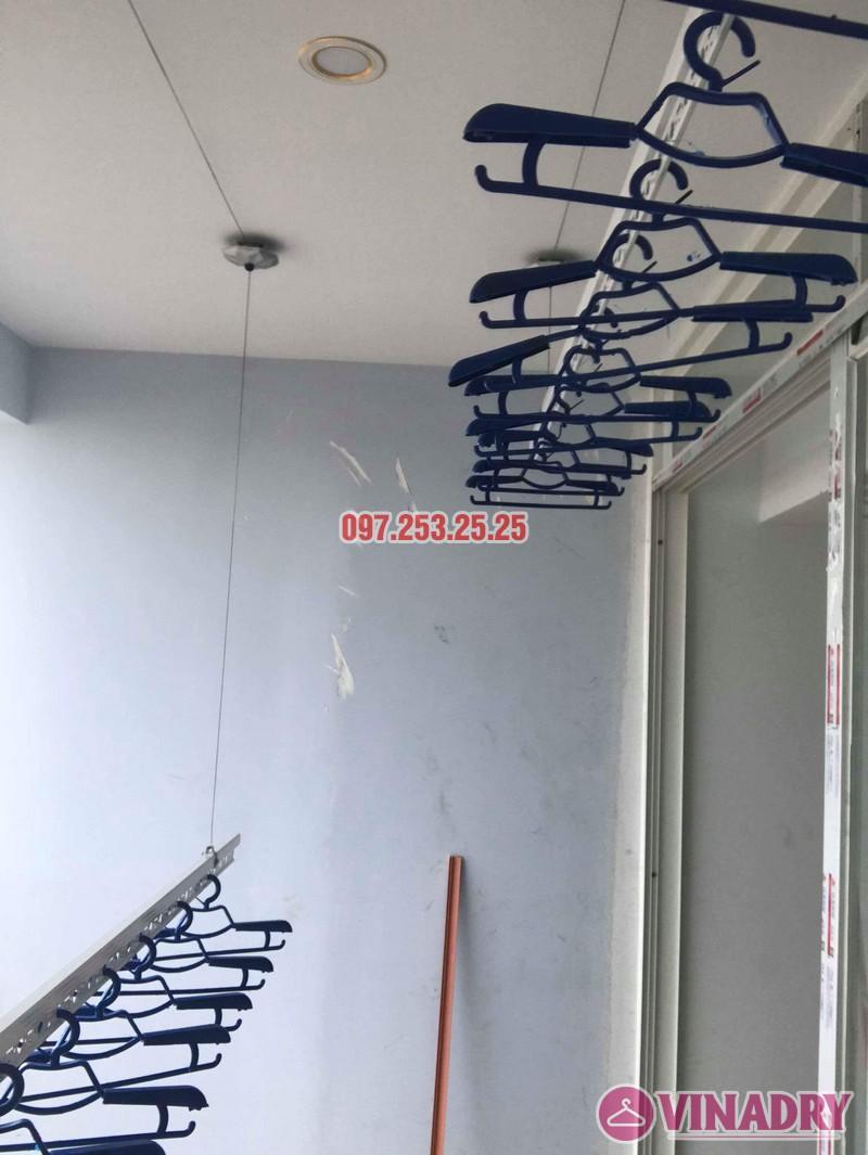 Lắp giàn phơi thông minh Hà Đông nhà chị Dịu, chung cư FLC Star Tower - 07