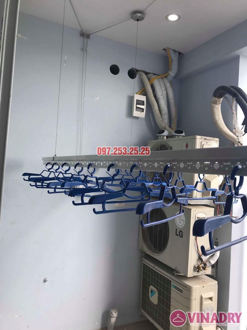 Lắp giàn phơi thông minh Hà Đông nhà chị Dịu, chung cư FLC Star Tower - 08