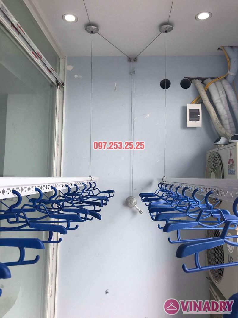 Lắp giàn phơi thông minh Hà Đông nhà chị Dịu, chung cư FLC Star Tower - 09