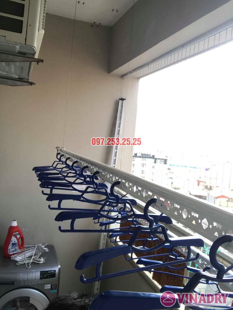 Lắp giàn phơi Hòa Phát nhà chị Thiện, tòa 24T, 85 Vũ Trọng Phụng, Thanh Xuân, Hà Nội - 04
